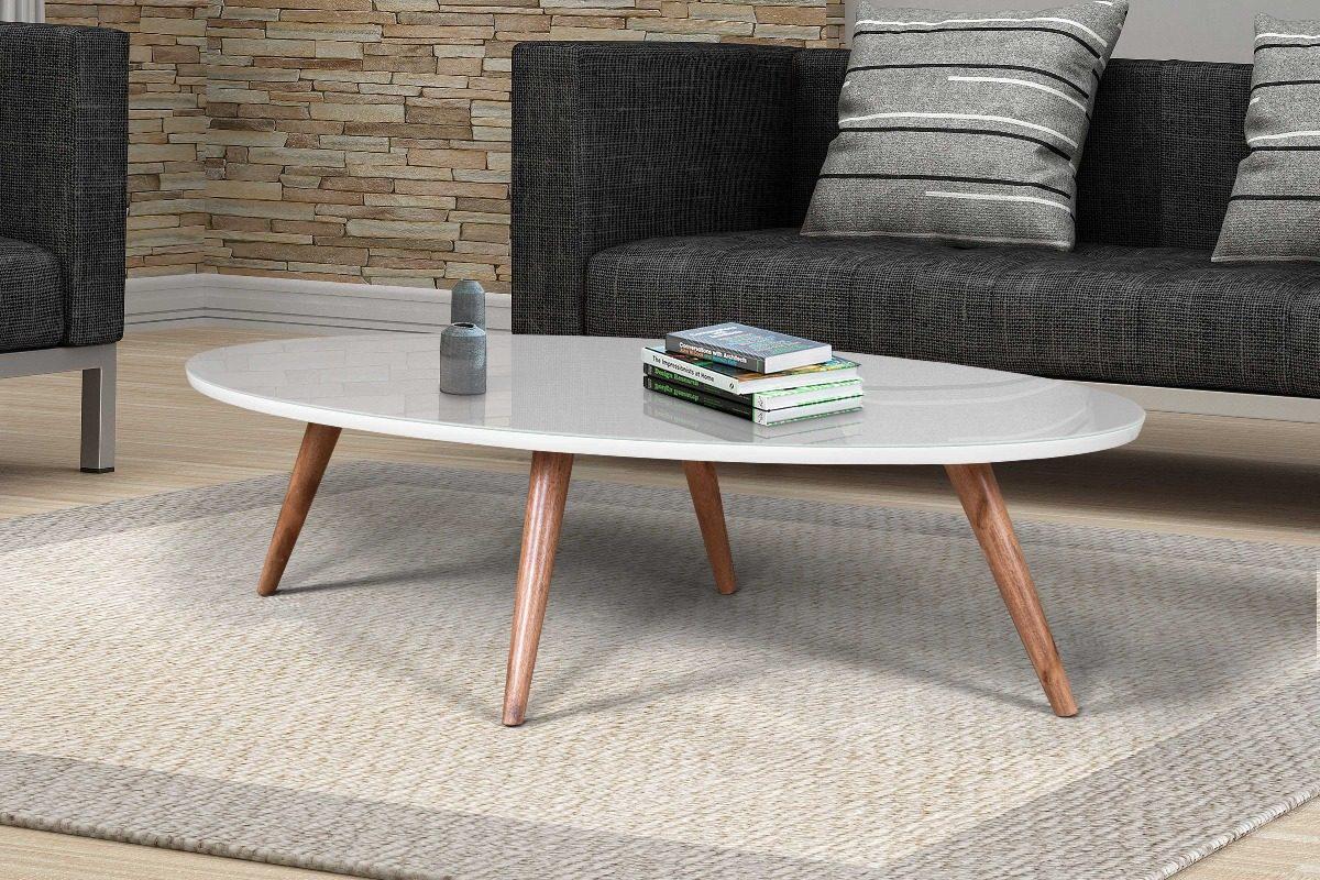 Mesa de centro oval 90 cm com vidro laqueada p palito cores r 359 90 em mercado livre - Mesas de centro ...