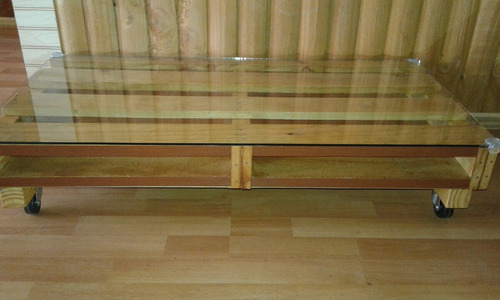 mesa de centro pallet