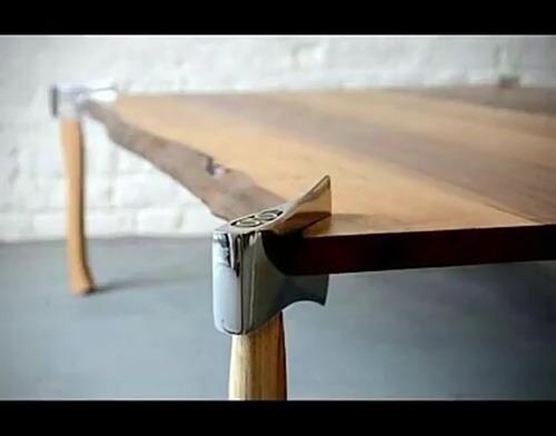 mesa de centro rústica de madeira de demolição exclusiva!!!