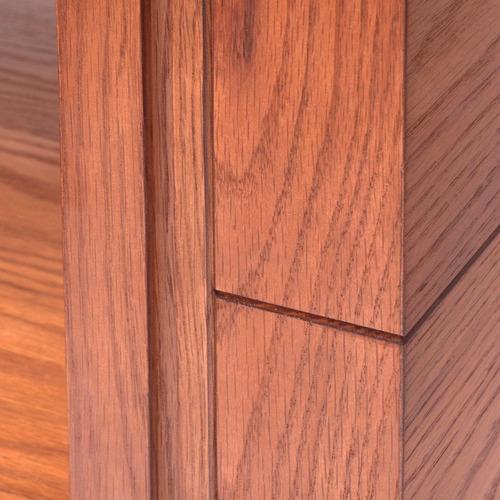 mesa de centro saabim en madera y cristal