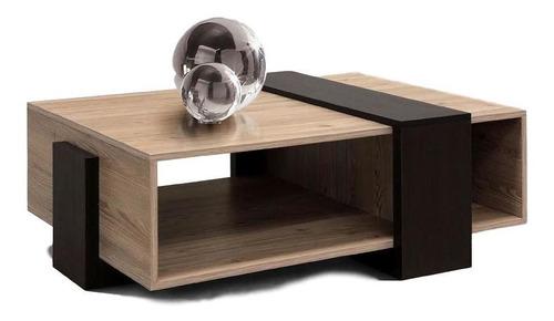mesa de centro sirin maple con chocolate këssa muebles