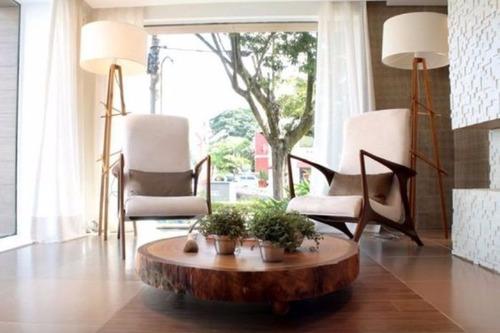 mesa de centro tronco tora rústica bolacha de madeira