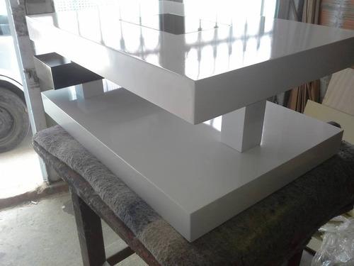 mesa de centro vanguardista de diseño moderna ref: deko4.3