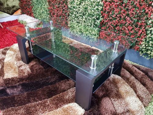mesa de centro vidrio templado biselado nuevas