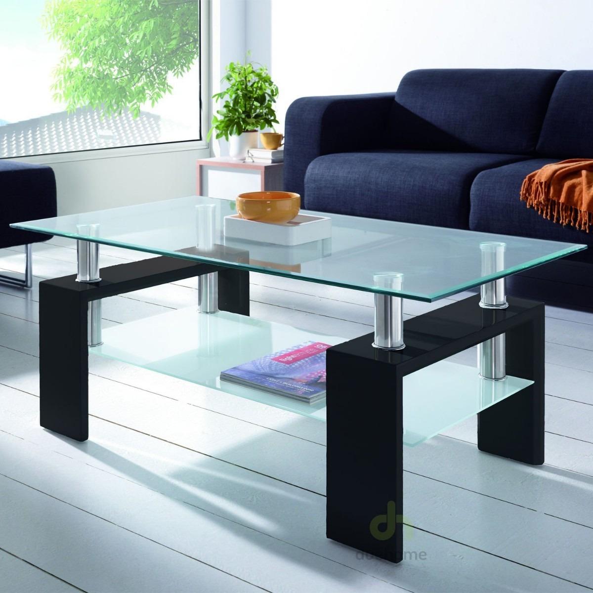 Mesa de centro vidrio templado biselado nuevas u s 84 00 en mercado libre - Mesas de vidrio templado ...