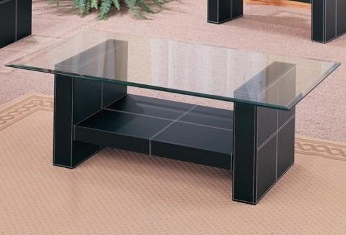 Mesa de centro vidrio templado con bipiel importado bs - Mesas de vidrio templado ...