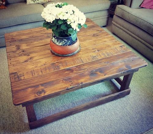 mesa de centro vintage.