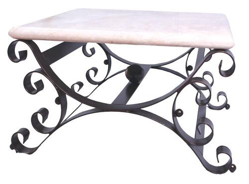 mesa de centro y/o lateral de marmol para sala