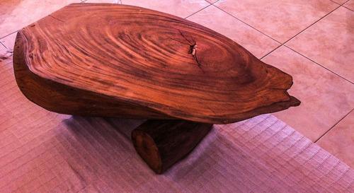 mesa de centro,mesa de canto, rústico, mesa em tronco.