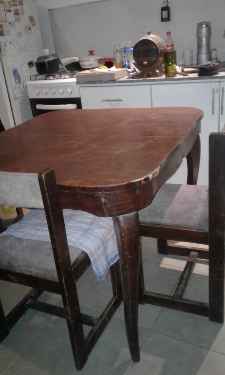 Mesa De Comedor Antigua De Cedro - En La Plata - $ 3.200,00 en ...