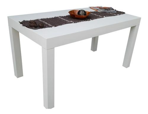 mesa de comedor asia 1.20 x 0.80 laqueada minimalista cocina