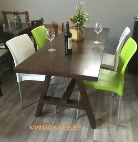 Mesa de comedor con 4 sillas 5 en mercado libre for Mesa de comedor 4 sillas
