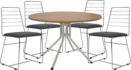 mesa de comedor con 4 sillas comedores divino
