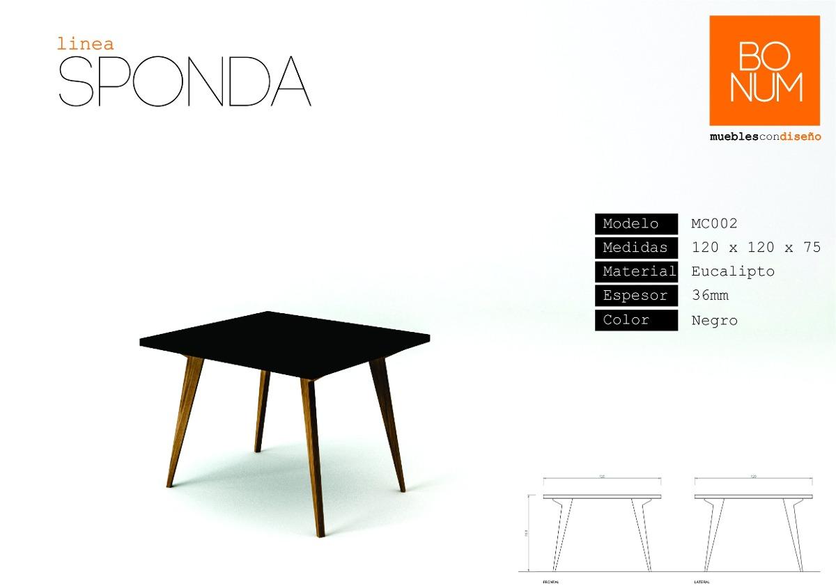Mesa de comedor con patas en madera maciza for Precios de mesas de comedor de madera