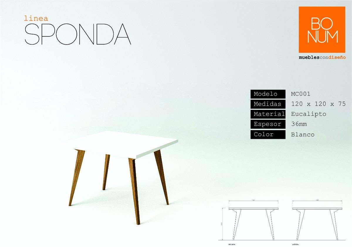 Mesa de comedor con patas en madera maciza for Precios de mesas de madera para comedor