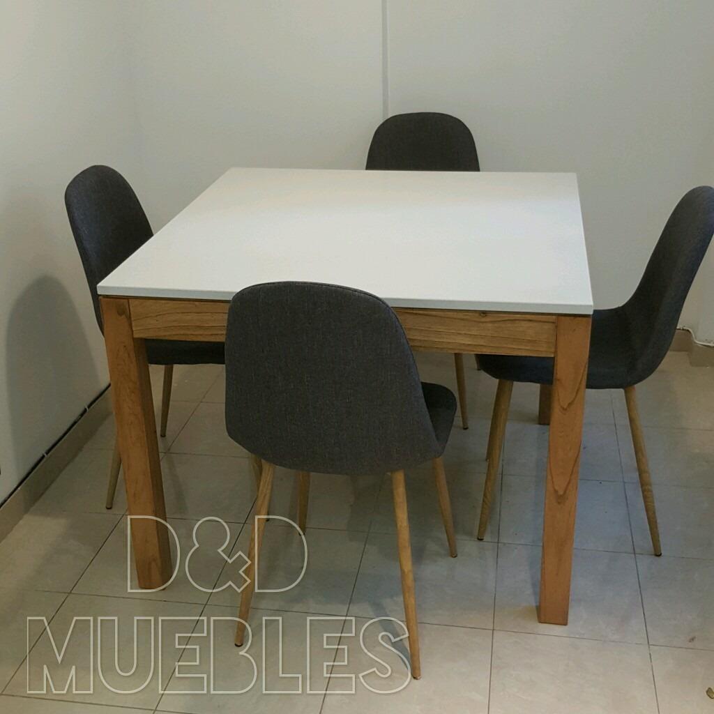 Mesa De Comedor Con Tapa De Silestone 1 X 1 X 075 - $ 21.599,00 en ...