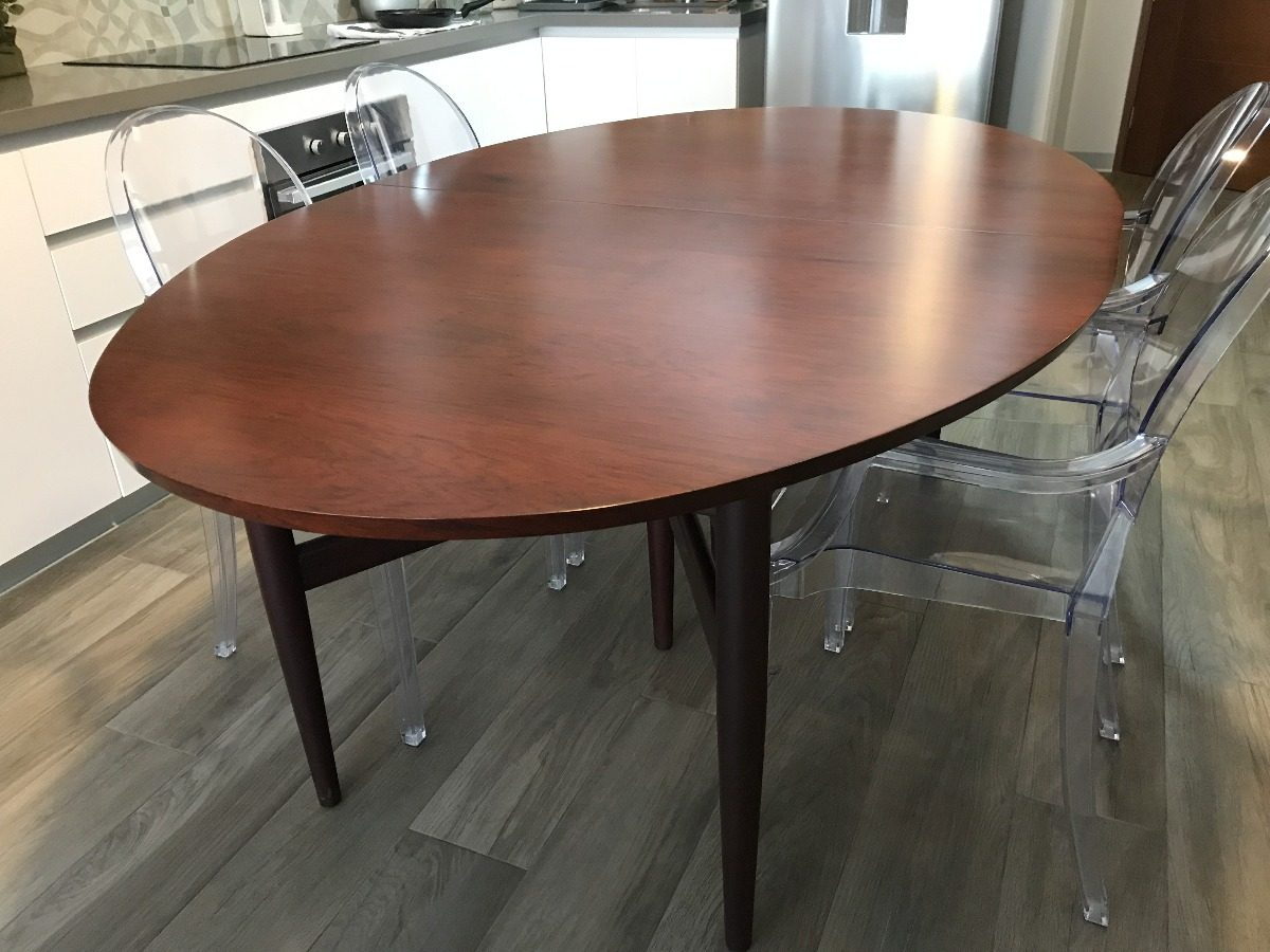 Mesa de comedor de cedro macizo para 6 8 personas s 2 for Mesa plegable 8 personas