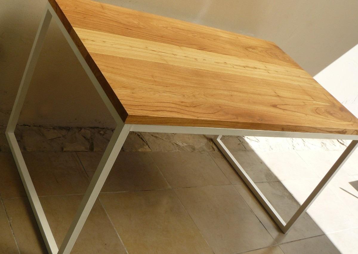 Mesas escritorio madera mesa silla madera hierro sillon - Mesa escritorio madera ...
