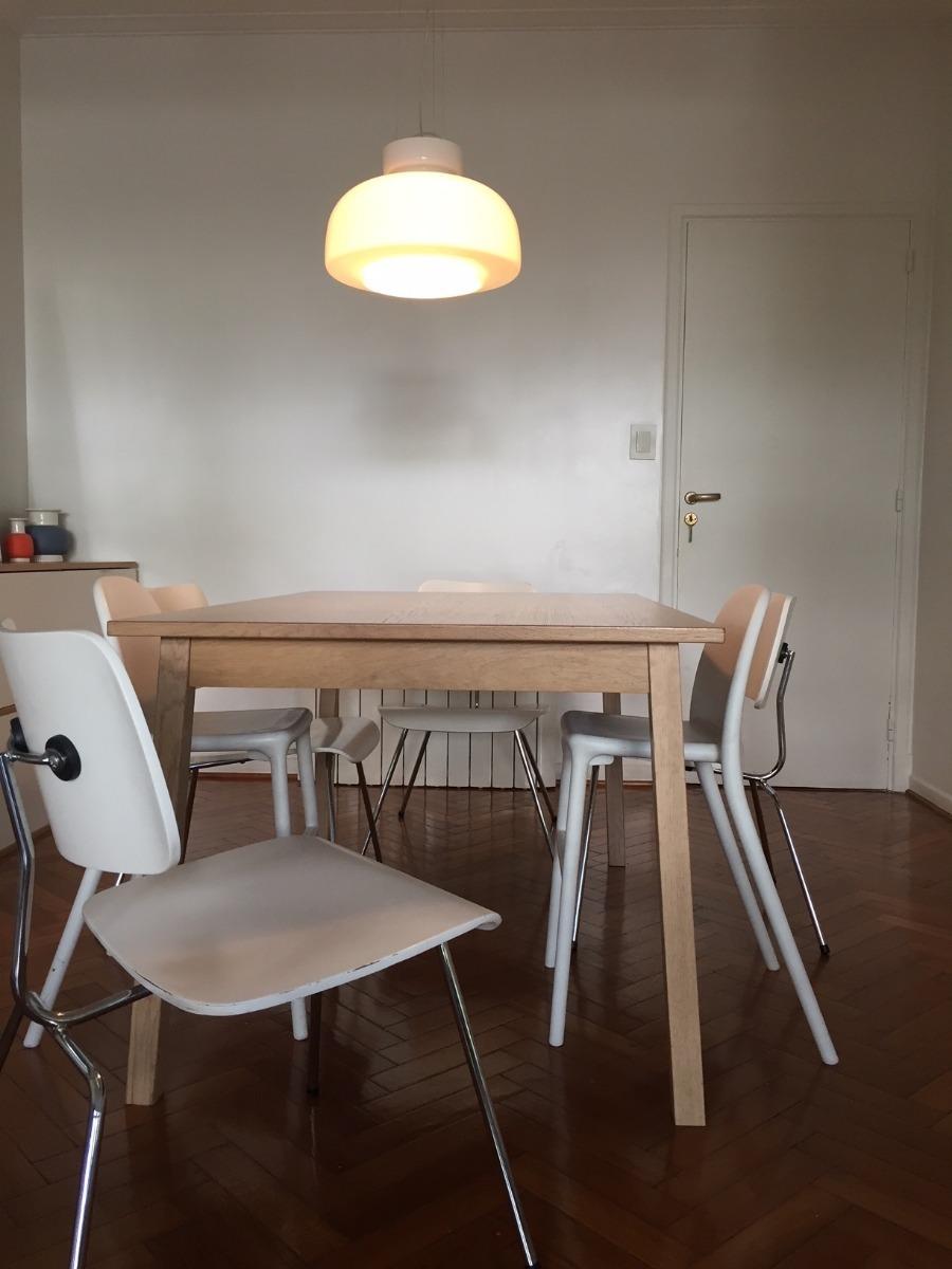 Mesa De Comedor Diseño Escandinavo Ikea Original - $ 12.000,00 en ...