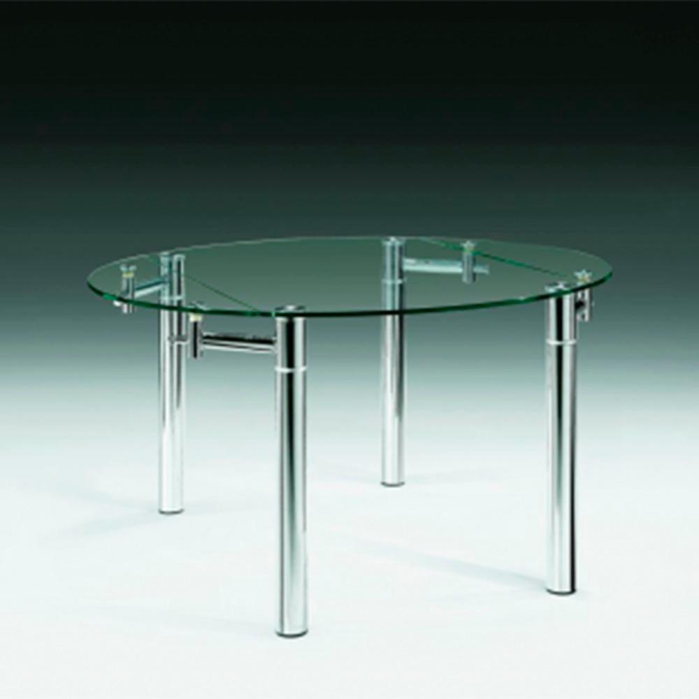Mesa De Comedor Diseño Redonda Extensible Buena Luz Hogar - $ 27.980 ...