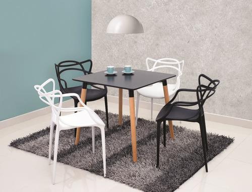 Mesa de comedor importado diseño moderno 4 puestos. reiva ...