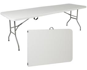 De Plegable Mesa Color Y Blanco Portátil Comedor Plástico kOTwuZPilX