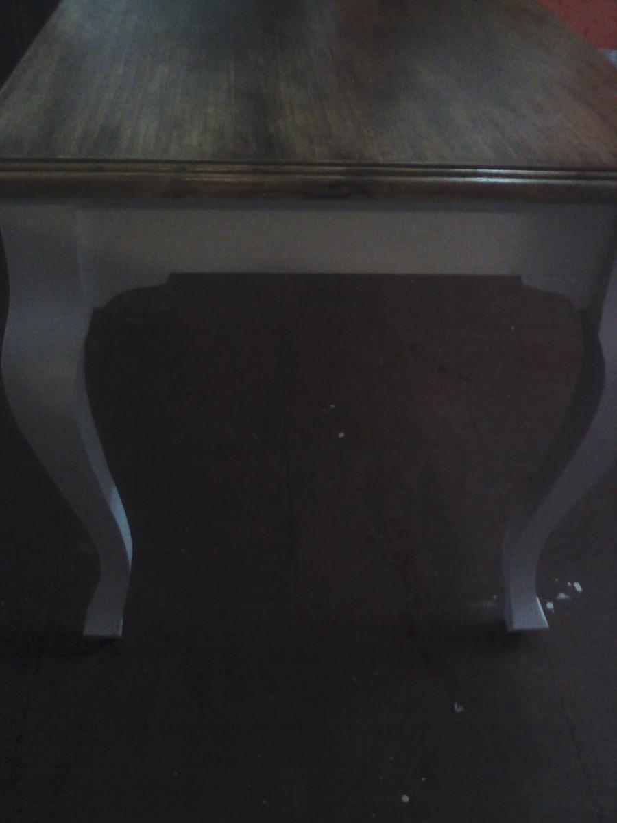 Mesa de comedor provenzal sin pintar en crudo - Muebles en crudo para pintar ...