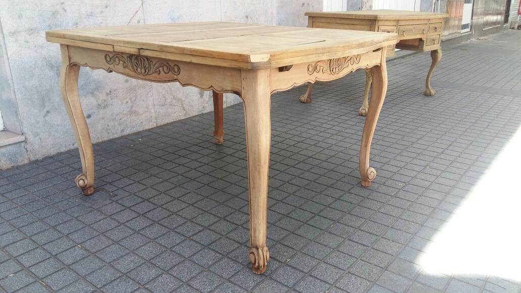 Mesa De Comedor Provenzal Frances Original - $ 12.900,00 en Mercado ...