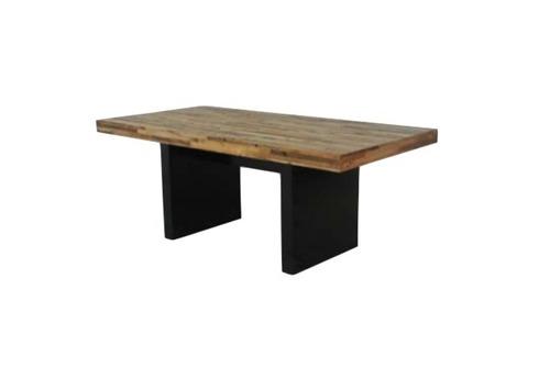 mesa de comedor rectangular reciclato 190x90cm