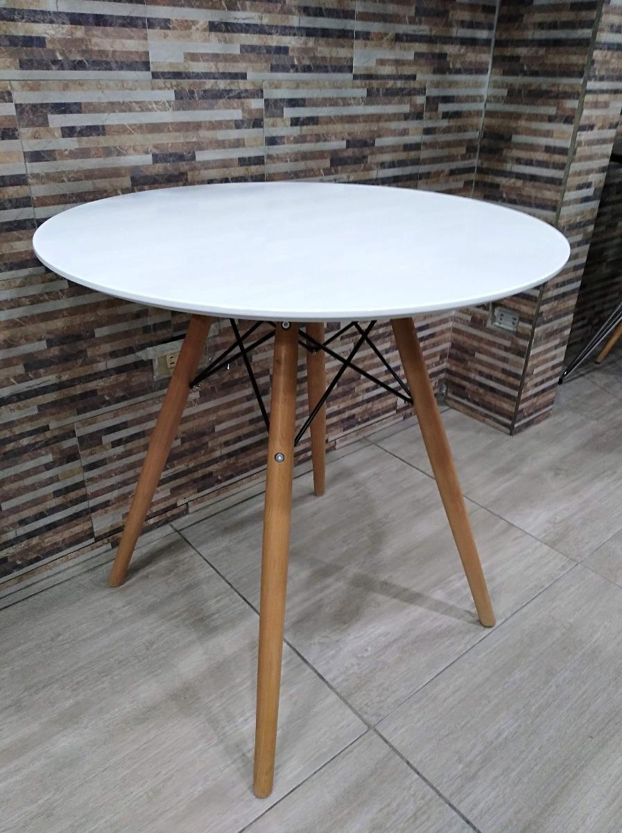 Mesa De Comedor Redonda Diseño Moderno 4 Puestos - $ 390.000 en ...