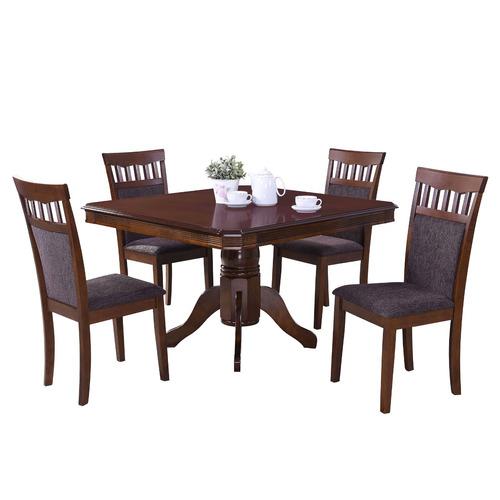 mesa de comedor rinnova vannes + 4 sillas
