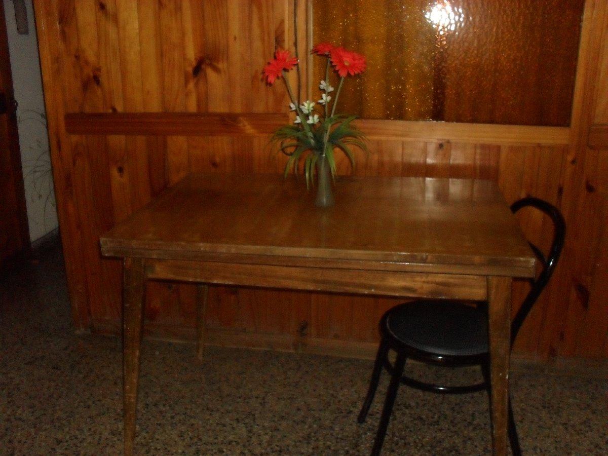 Mesa De Comedor Tipo Libro Con Cajonera Para Manteles... - $ 950,00