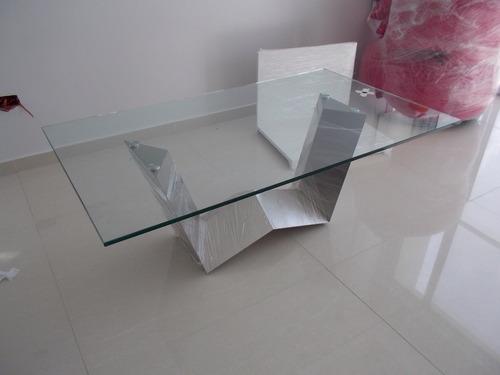 mesa de comedor w acero inoxidable