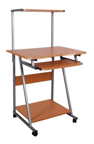 mesa de computadora de 3 niveles