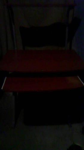 mesa de computadora tres niveles