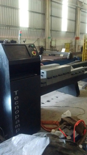 mesa de corte de tubos 400 x 6000 tecnotubo