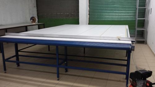 mesa de corte para persianas