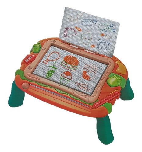 mesa de dibujo magnético tablero para juego niños borrable