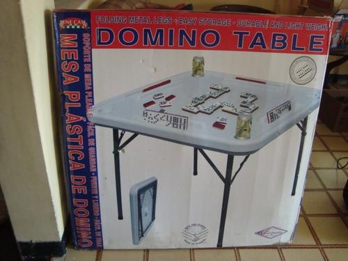 mesa de domino plegable