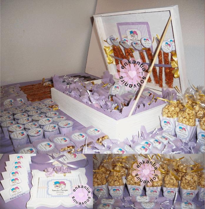 Mesa de dulces 100 personas bautizo comunion boda xv - Preparar mesa dulce para comunion ...