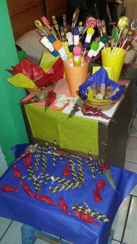 mesa de dulces 100 personas  envio gratis tradicional temáti