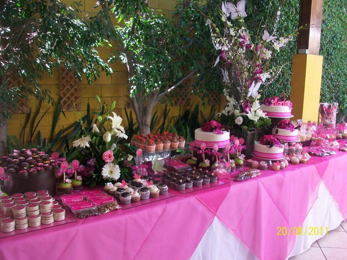 Mesa de dulces 40 personas 1 en mercado libre for Mesa de dulces para 15