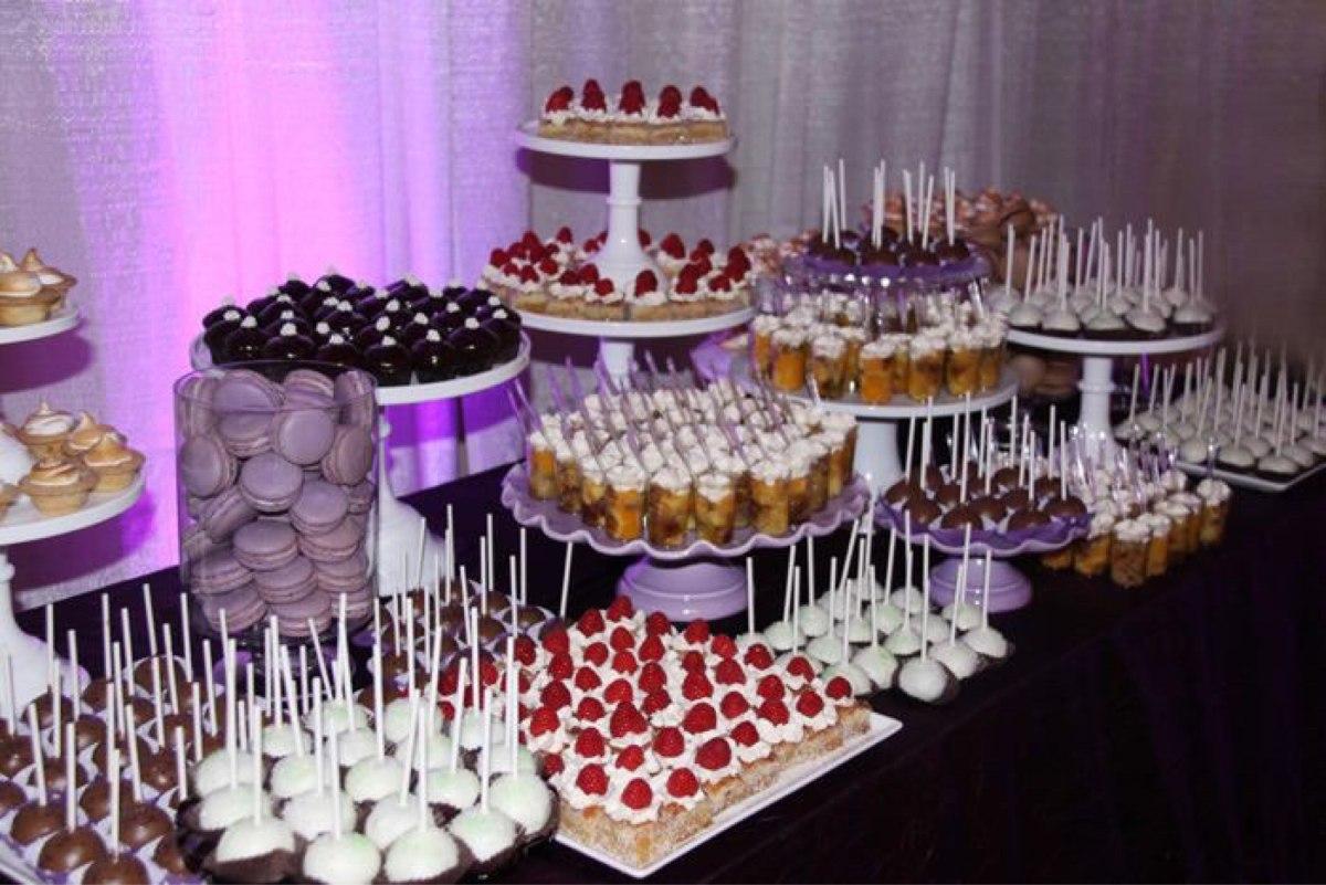 Mesa de dulces boda para 30 personas 2 en for Backdrop para mesa de dulces