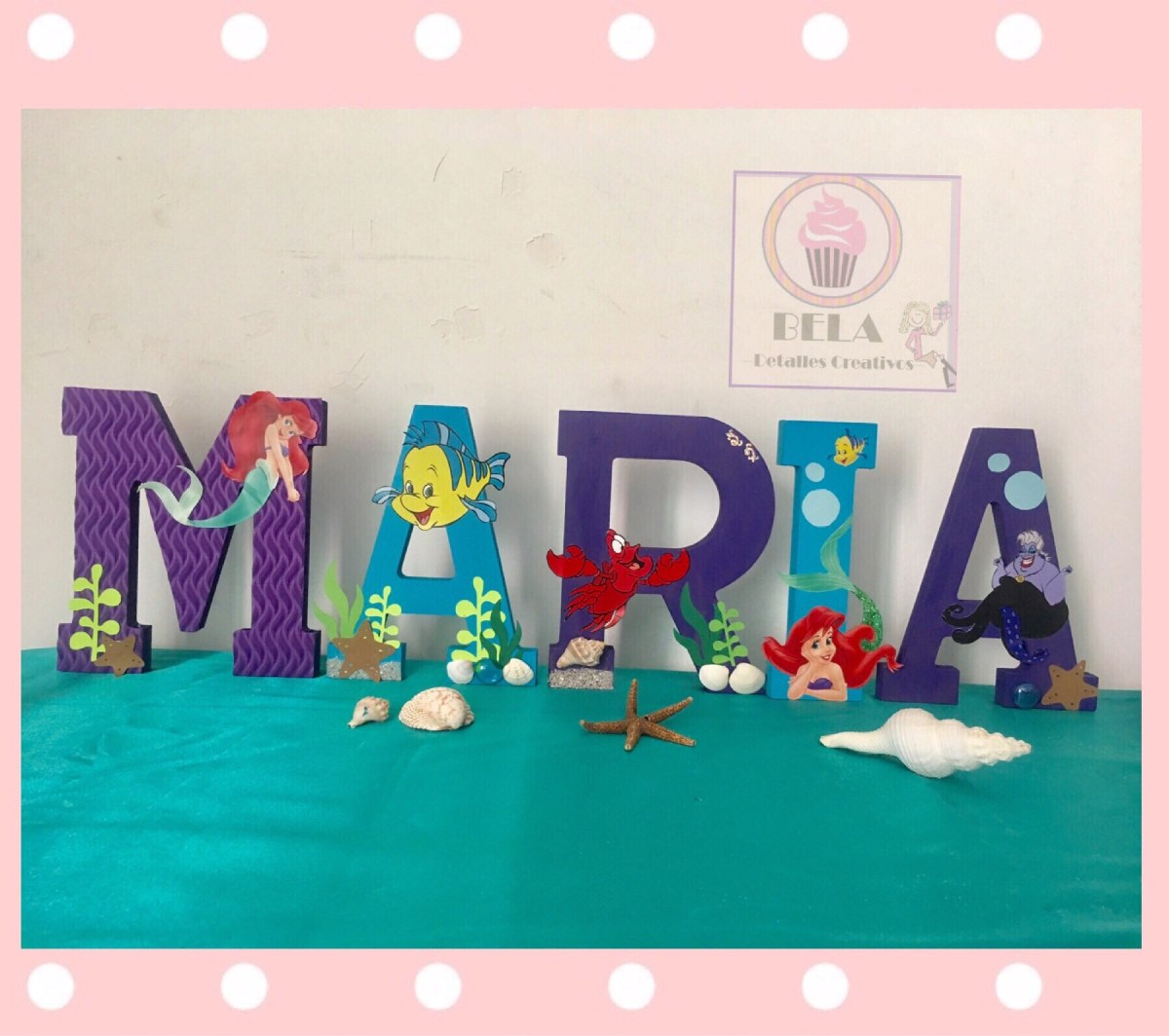 Mesa de dulces decoracion de letras en - Decoracion de letras ...