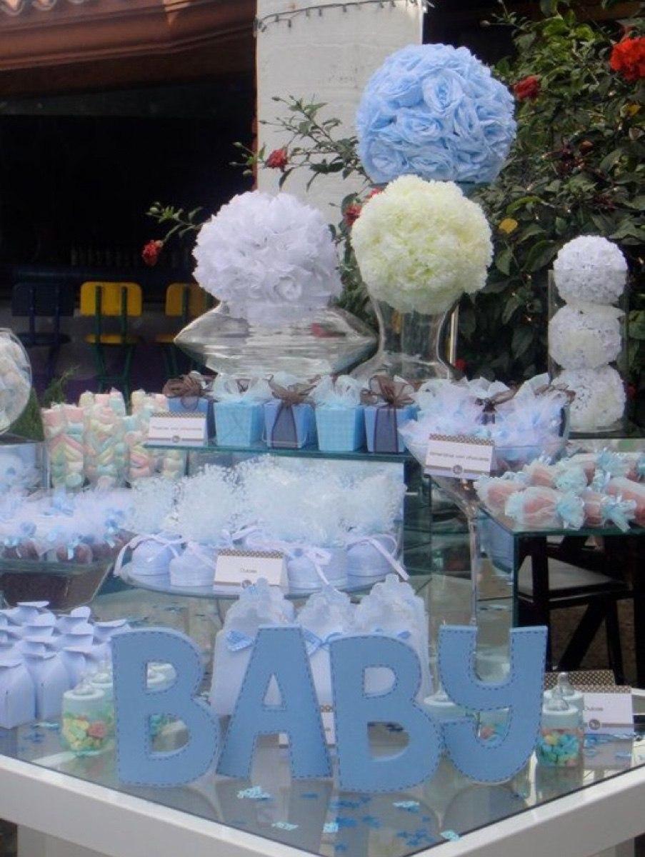 Mesa de dulces fiesta cumplea os bautizo baby shower boda - Como hacer centros de mesa con dulces para bautizo ...
