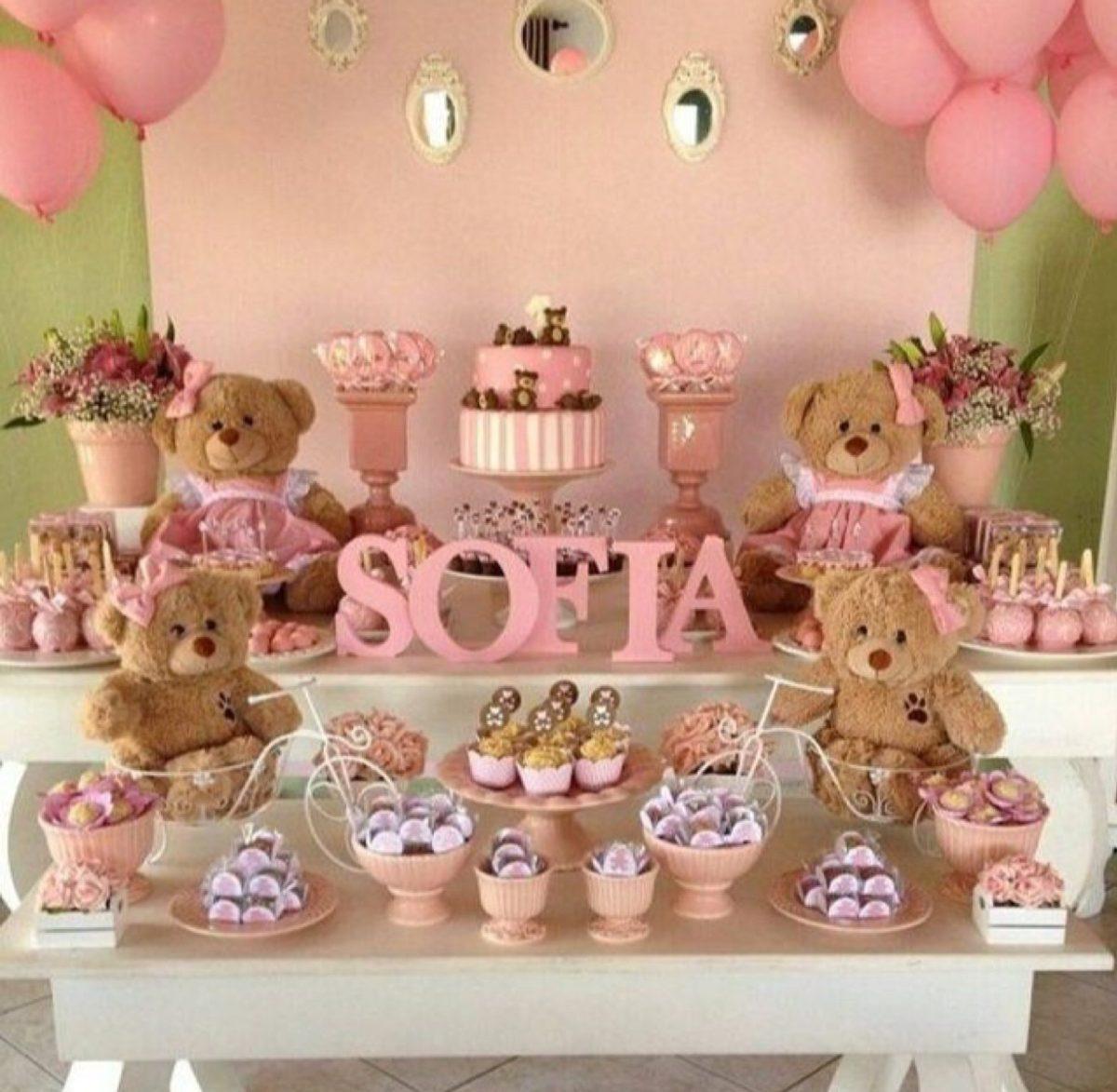 Mesa de dulces fiesta cumplea os bautizo baby shower boda - Hacer mesa dulce bautizo ...