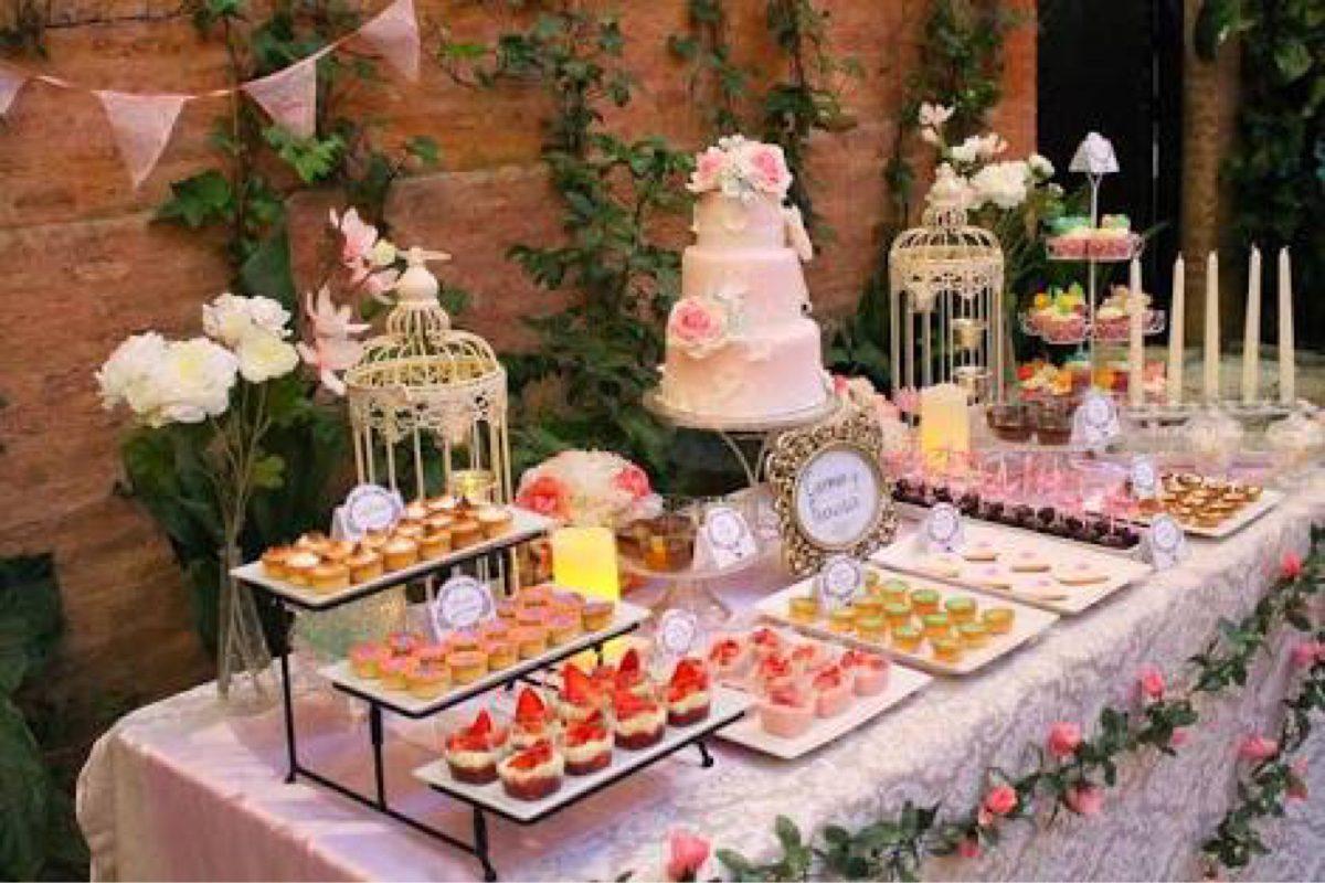 mesa de dulces fruta postres bodas fiestas xv a os