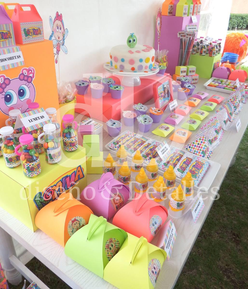 Mesa de dulces tem tica distroller fiestas infantiles for Cosas de decoracion originales