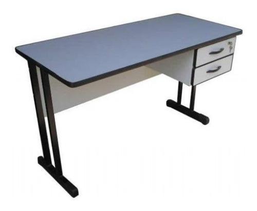 mesa de escritório 1,20 x 0,60 com 3 gavetas