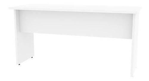 mesa de escritório 1,20 x 0,60 mdp branco ou preto promoção